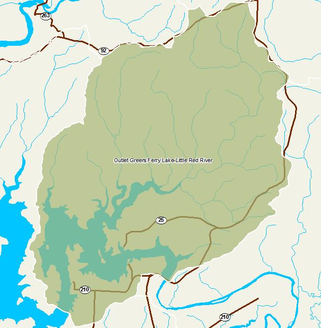 Little Red River Arkansas Map.Arkansas Watershed Information System 12 Digit 110100140606